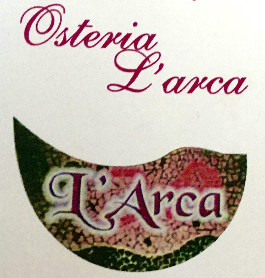 logo del ristorante bar l'arca